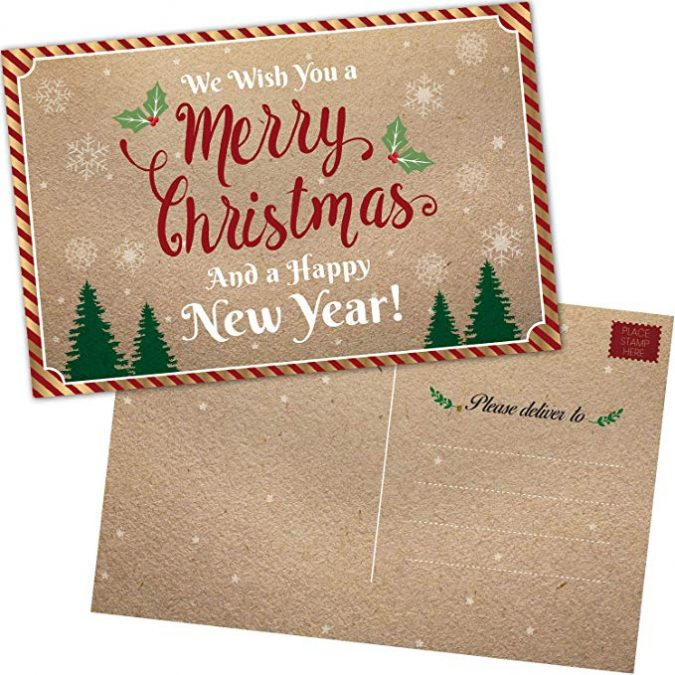 christmas-card-1-675x675 50+ Best Merry Christmas & Happy New Year Greeting Cards 2019 - 2020