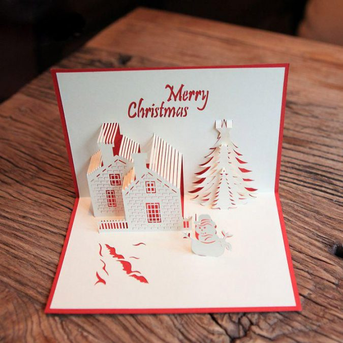 christmas-card-2-675x675 50+ Best Merry Christmas & Happy New Year Greeting Cards 2019 - 2020