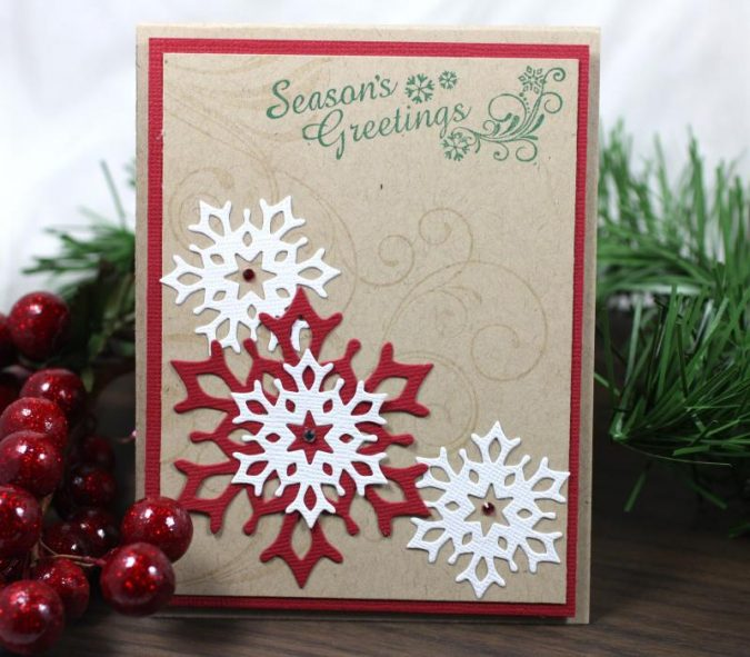 christmas-new-year-card-675x591 50+ Best Merry Christmas & Happy New Year Greeting Cards 2019 - 2020