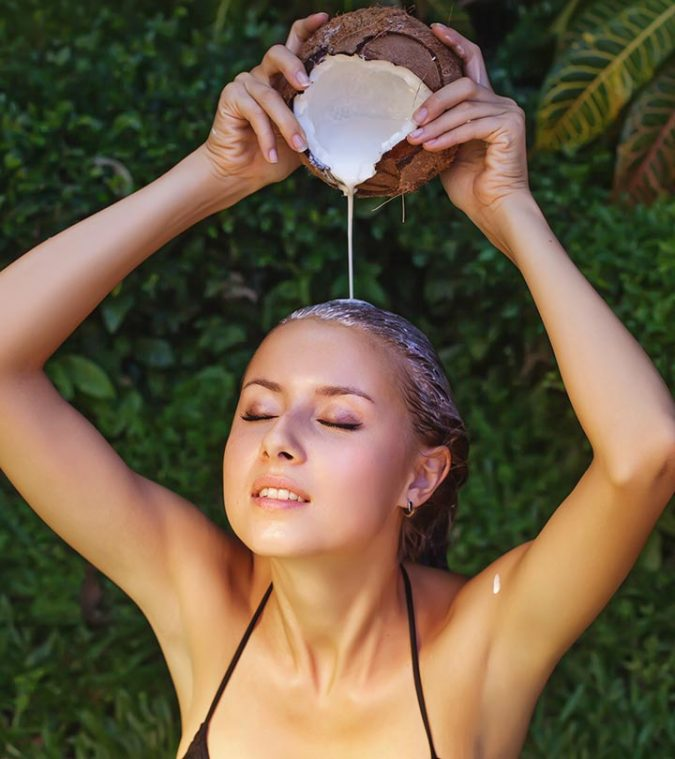 coconut-milk-for-hair-675x759 Best 10 Hair Growth Methods with Home Remedies