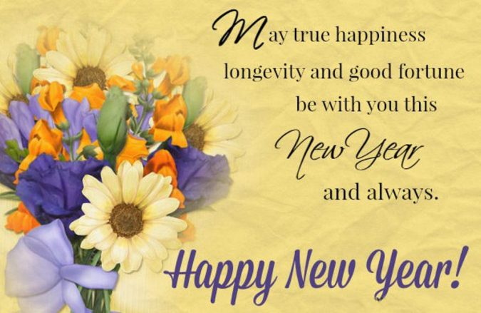 happy new year wishes card 675x439 50 best merry christmas