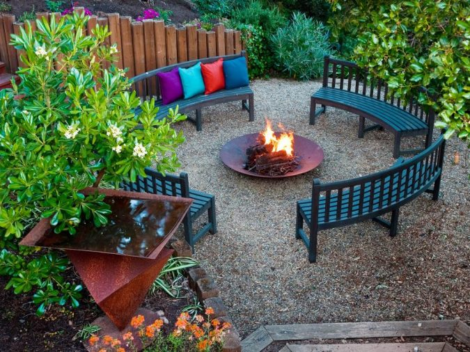 home-garden-fire-pit-4-675x506 +7 Ideas to Revamp Your Garden for 2020