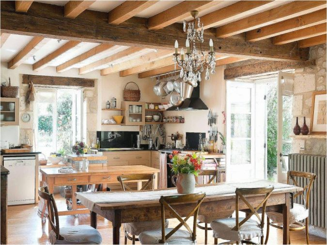 kitchen-decor-french-country-style-675x506 10 Outdated Kitchen Trends to Substitute in 2019