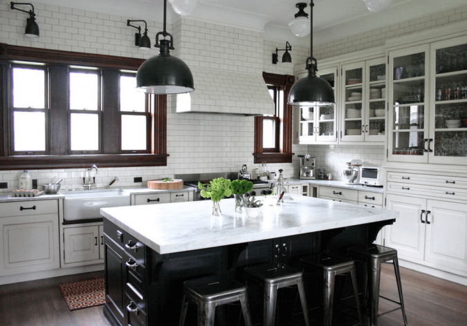 kitchen-decor-kitchen-island-675x472 10 Outdated Kitchen Trends to Substitute in 2019