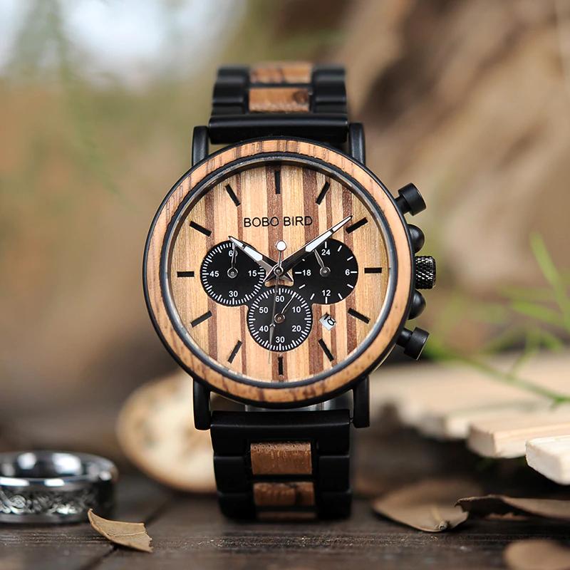 luxury-wooden-men-watch Luxury Wooden Watches For Men