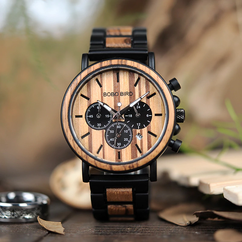 luxury-wooden-men-watch Luxury Wooden Watches For Men