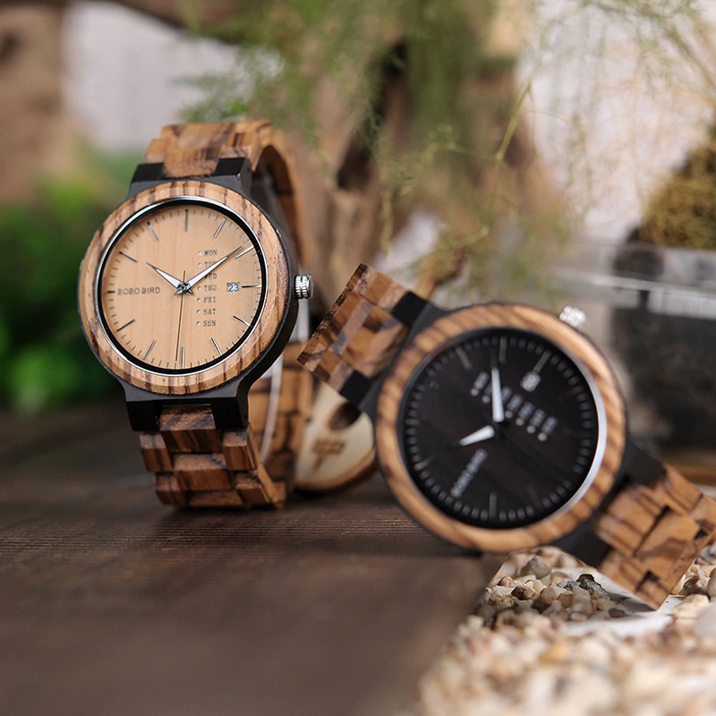 men-wooden-watch-2 Unique Masculino Wooden Watch For Men [In Wooden Gift Box]