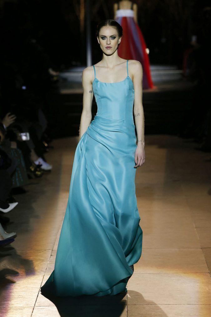 retro-fashion-gown-carolina-herrera-new-york-fashion-fall-2018-runway-show-look-34-675x1013 70+ Retro Fashion Ideas & Trends for Fall/Winter 2019