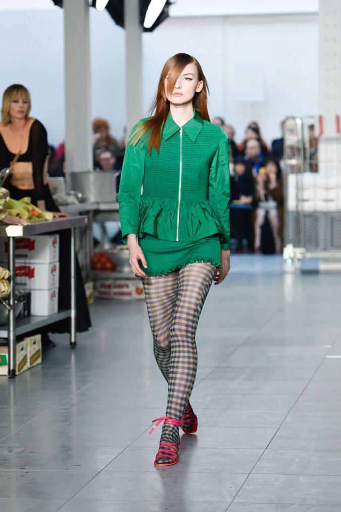 retro-fashion-outfit-mini-dress-Molly-Goddard-AW18-Look-13-675x1011 70+ Retro Fashion Ideas & Trends for Fall/Winter 2019