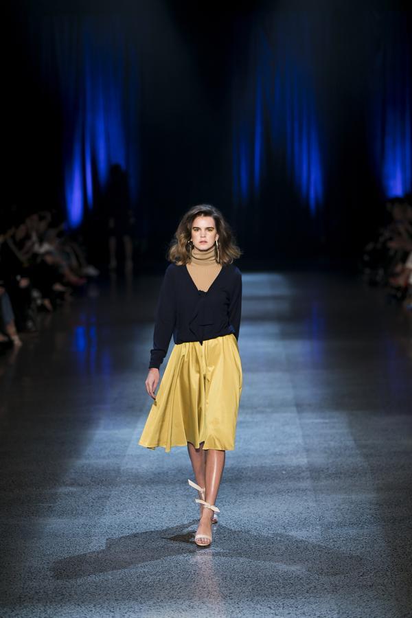 retro-fashion-outfit-skirt-Runway-Hailwood-winter-2018 70+ Retro Fashion Ideas & Trends for Fall/Winter 2019