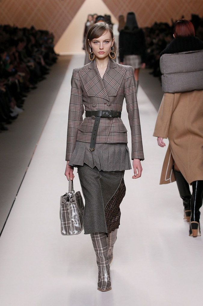 retro-fashion-outfit-supersized-shoulders-fendi-woman-fw18-19-look-08_s1-675x1013 70+ Retro Fashion Ideas & Trends for Fall/Winter 2020