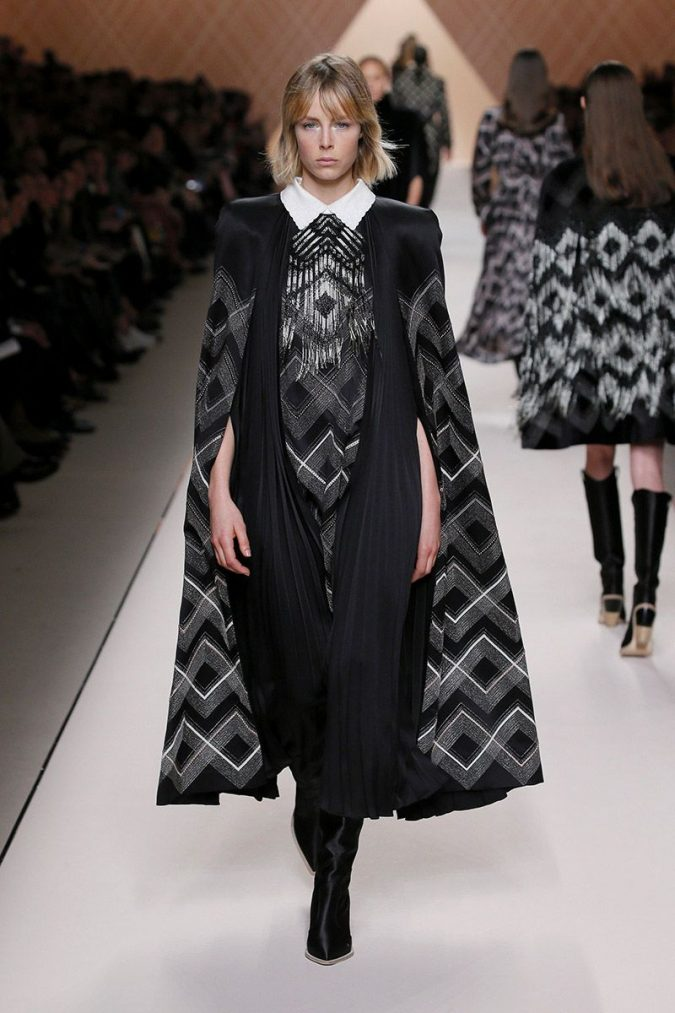 retro-fashion-outfit-supersized-shoulders-fendi-woman-fw18-19-look-46_s1-675x1013 70+ Retro Fashion Ideas & Trends for Fall/Winter 2019