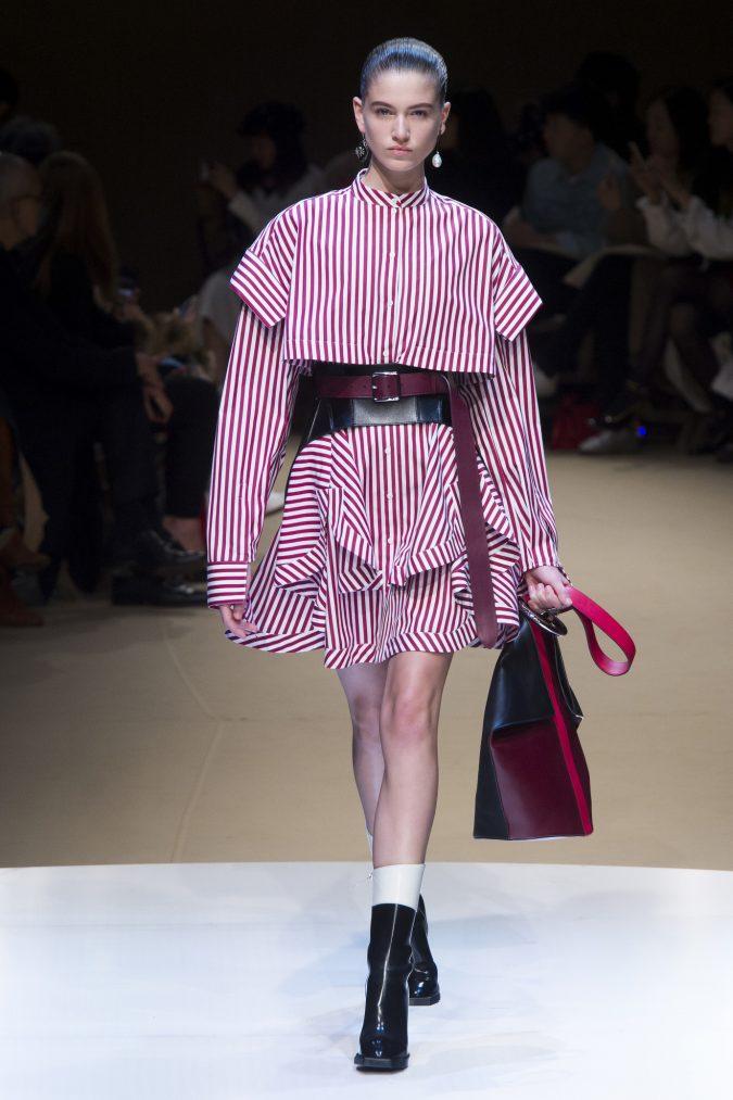 winter-outfit-mini-dress-alexander-Mcqueen-fall-winter-2019-675x1013 70+ Retro Fashion Ideas & Trends for Fall/Winter 2019