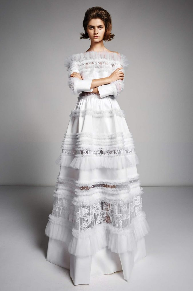 00006-viktor-rolf-fall-2019-bridal-1-675x1013 150+ Bridal Fashion Trends and Ideas for Fall/winter 2020