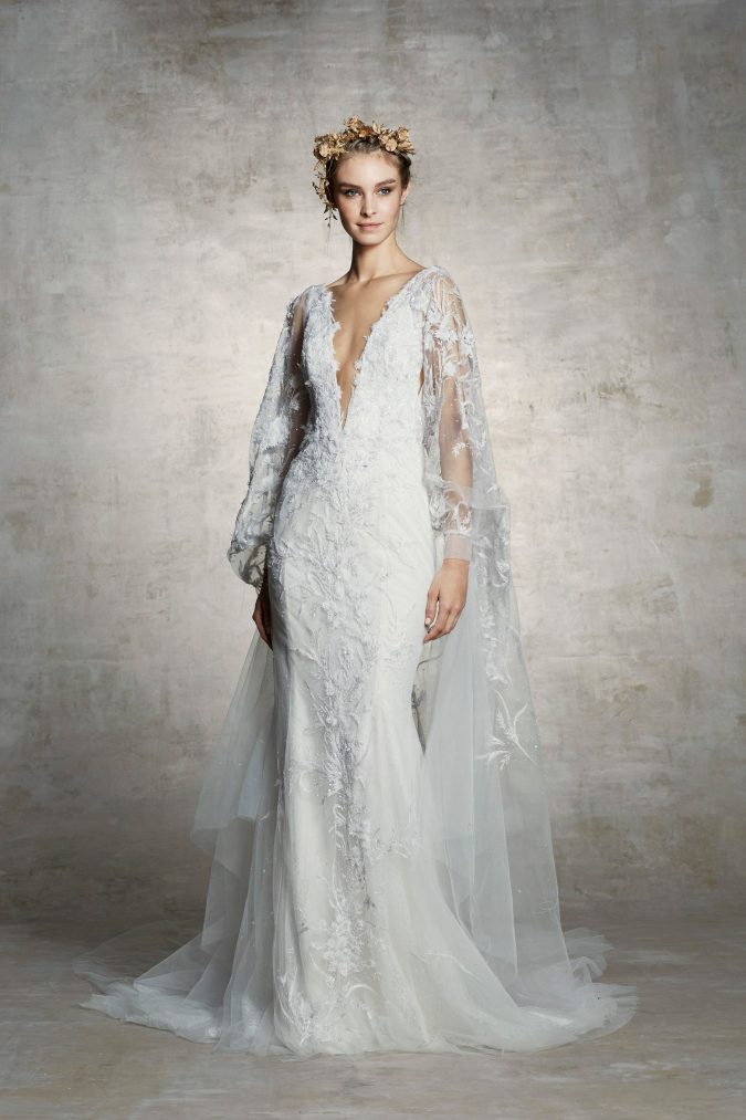 001-marchesa-bridal-spring-2019-vogue-pr-2-675x1013 150+ Bridal Fashion Trends and Ideas for Fall/winter 2020