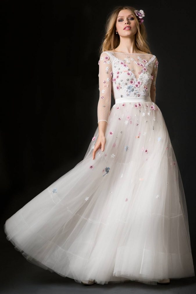 02-lucille-dress-temperley-bridal-675x1012 150+ Bridal Fashion Trends and Ideas for Fall/winter 2019