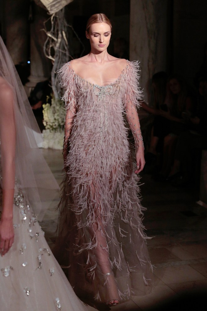 02-reem-acra 150+ Bridal Fashion Trends and Ideas for Fall/winter 2020
