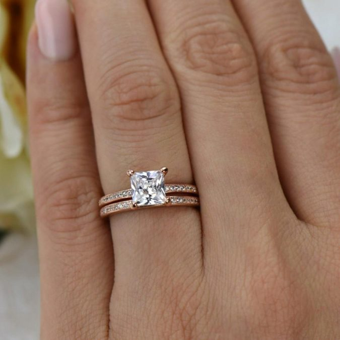 15-ctw-princess-cut-eternity-wedding-set-bridal-rings-man-made-diamond-simulants-engagement-ring-14k-rose-gold-plated-sterling-silver-675x675 Diamond Cuts and Cutting Styles