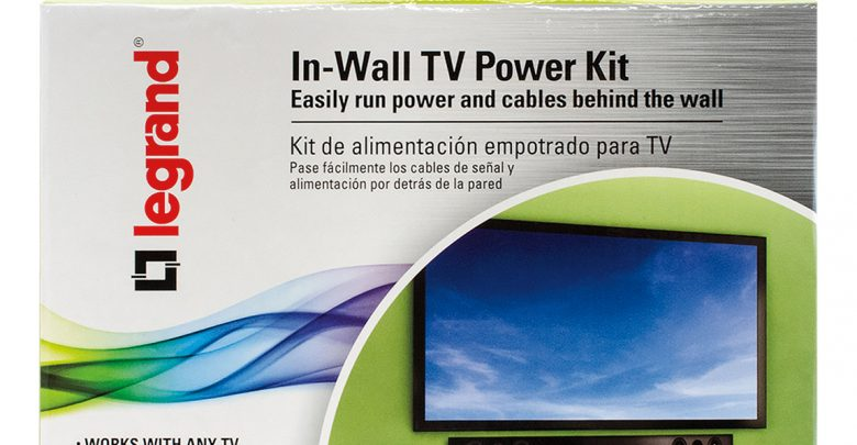 Photo of Legrand In-wall TV Power Kit: How to Hide the TV Wires Elegantly