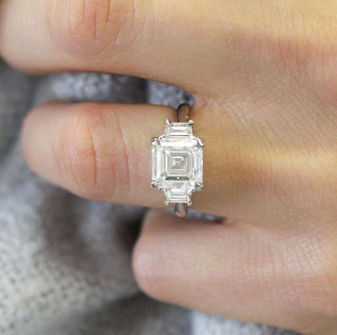 Asscher-diamond-cut-675x671 Diamond Cuts and Cutting Styles