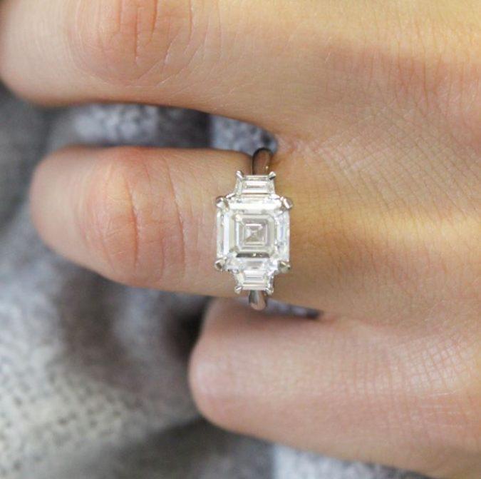 Asscher-diamond-cut-675x671 Diamond Cuts and Cutting Styles