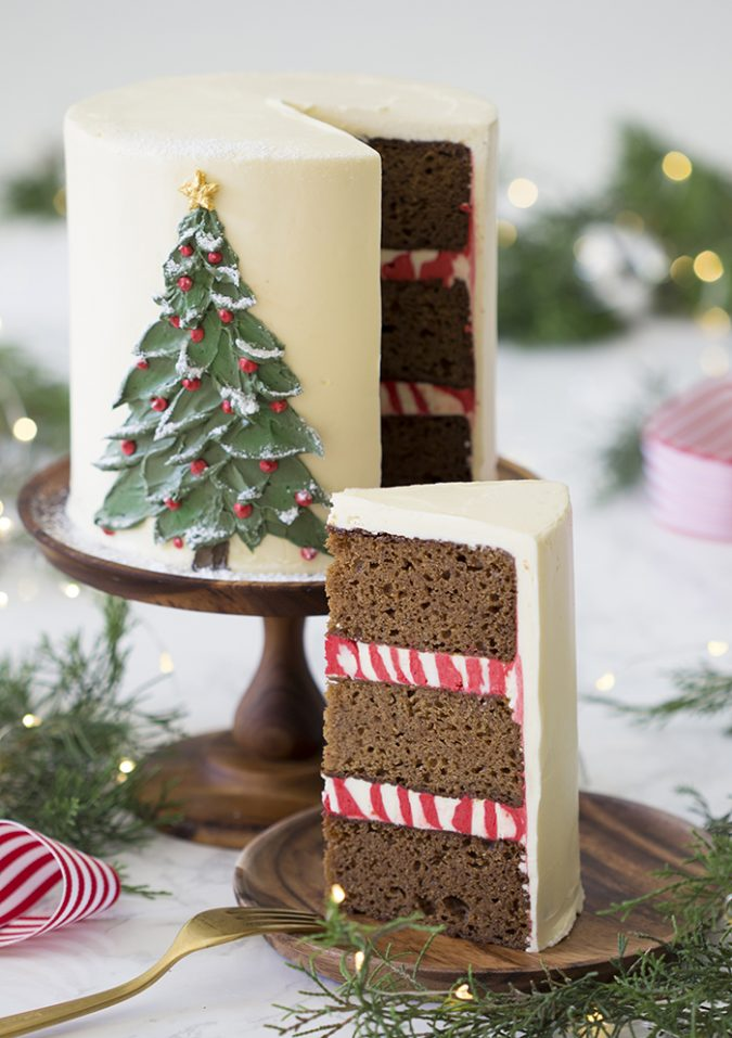 Christmas-Tree-Cake-Feature-675x957 Make this Christmas Day Delighted with Delicious Theme Cakes