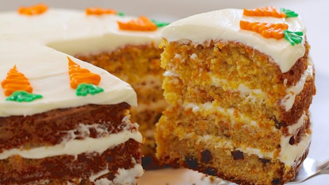 Colossal-Carrot-Cake-675x380 Top 5 Healthy Cakes for Fruitful Celebrations