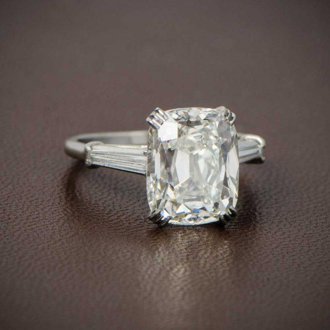 Cushion-Cut-Engagement-Ring-Artistic-675x675 Diamond Cuts and Cutting Styles