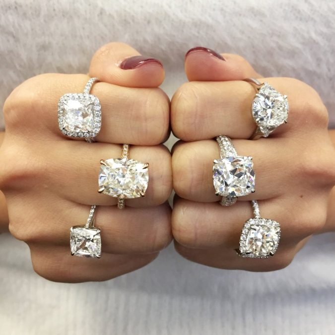 Cushion-diamond-cut-675x675 Diamond Cuts and Cutting Styles