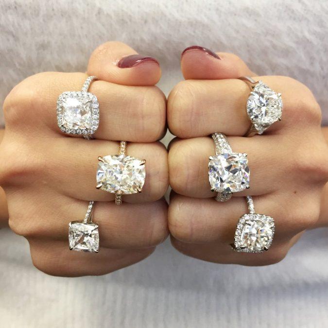 Cushion-diamond-cut-675x675 Diamond Cuts and Cutting Styles