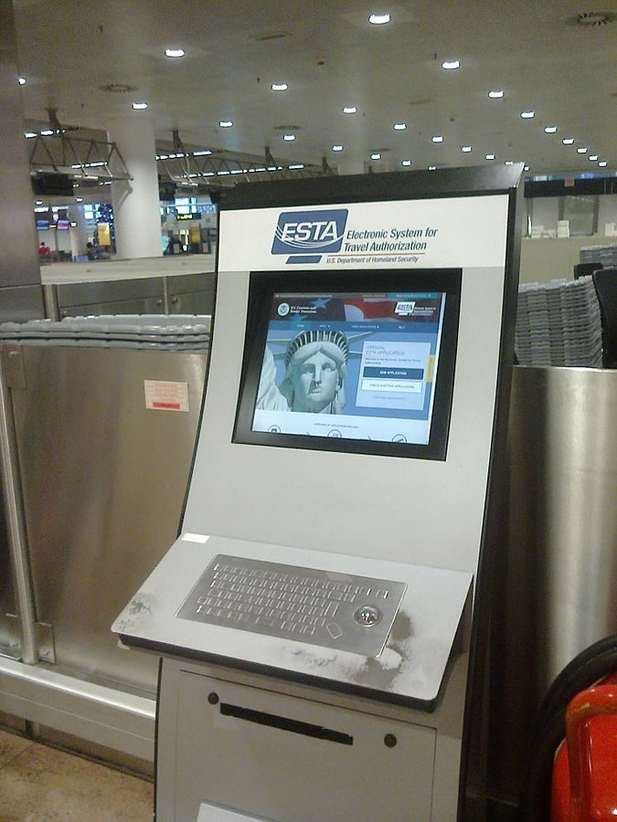 """Electronic-System-for-Travel_Authorization-terminal_Brussels_airport-675x900 Top 10 Important """"ESTA Application"""" Facts You Must Know"""