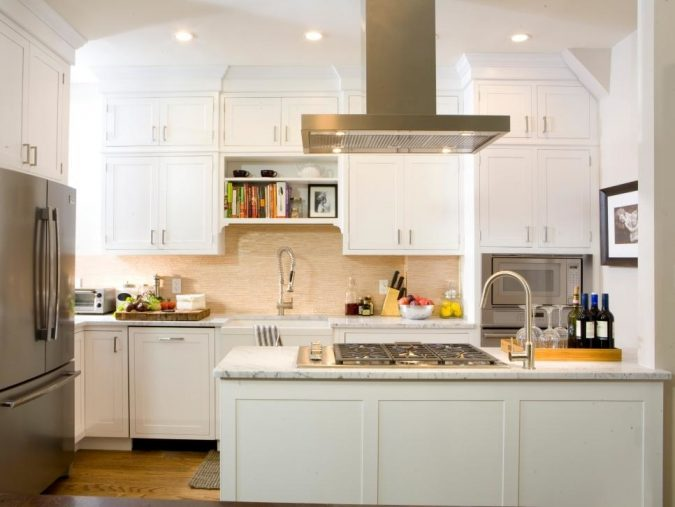HGTV-kitchen-small-hood-675x507 Top 10 Stylish and Practical Kitchen Design Trends for 2020