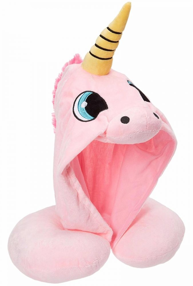 Hooded-Unicorn-Travel-Pillow-2-675x1000 Hooded Unicorn Travel Pillow