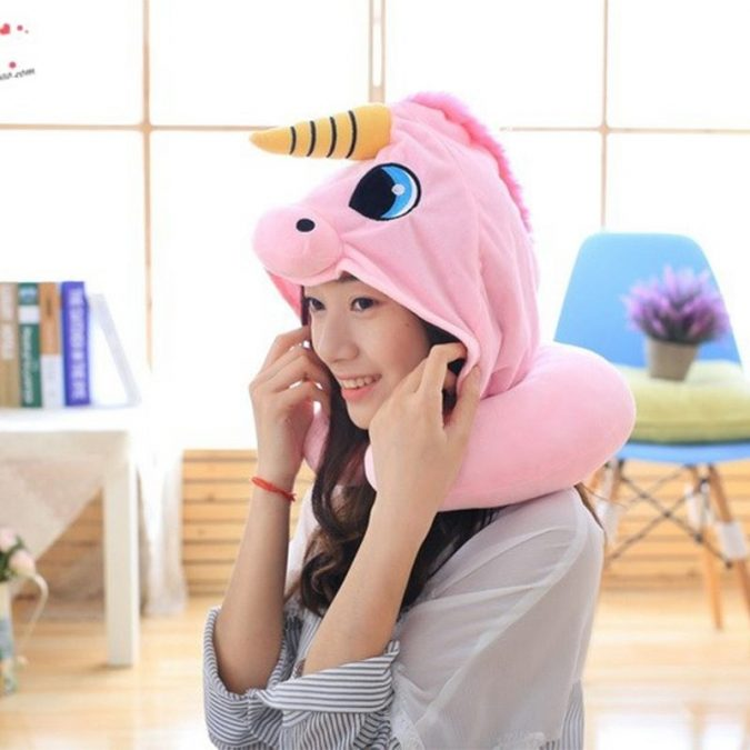 Hooded-Unicorn-Travel-Pillow-675x675 Hooded Unicorn Travel Pillow