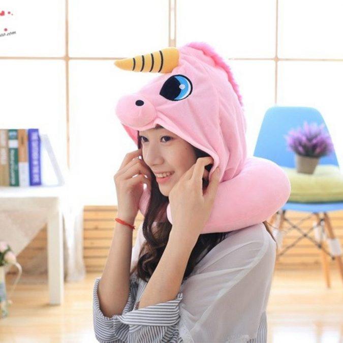 Hooded-Unicorn-Travel-Pillow-675x675 Hooded Unicorn Travel Pillow