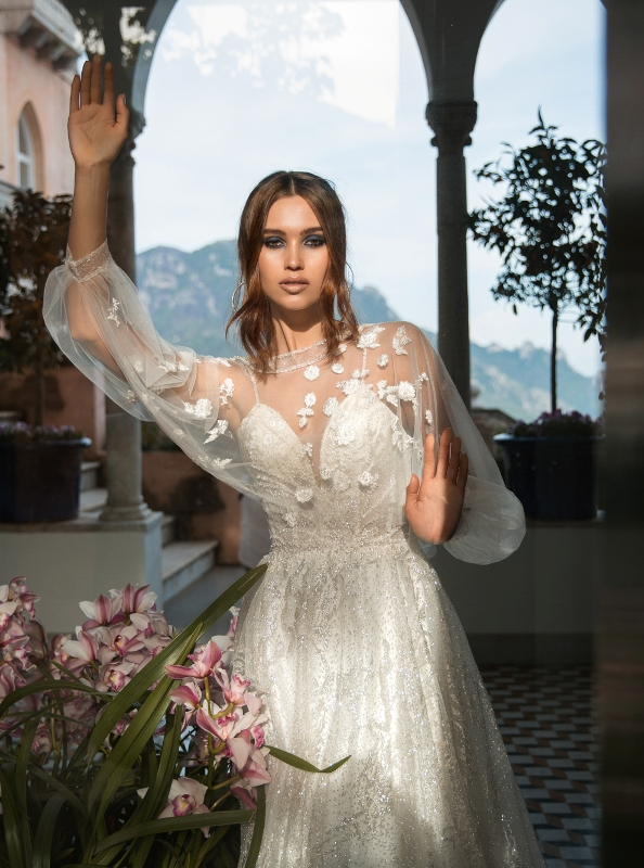 LaPetra-2019-dori-wedding-dress-1-bmodish 150+ Bridal Fashion Trends and Ideas for Fall/winter 2020