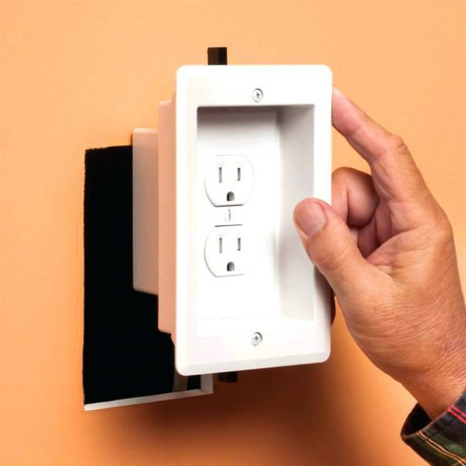Astounding Legrand In Wall Tv Power Kit How To Hide The Tv Wires Elegantly Wiring 101 Louspimsautoservicenl