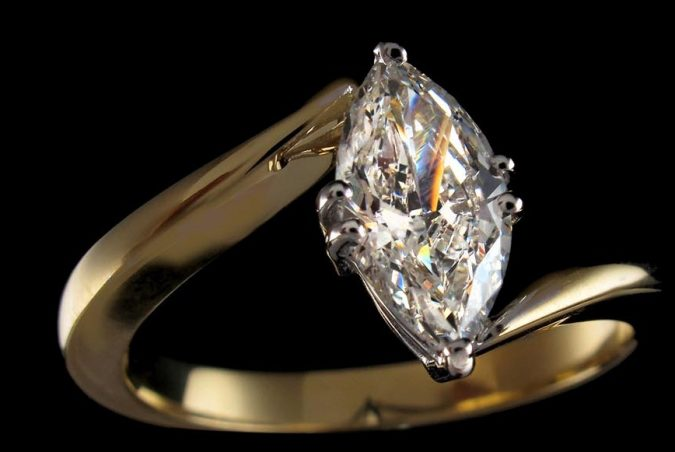 Marquise-ring-675x452 Diamond Cuts and Cutting Styles