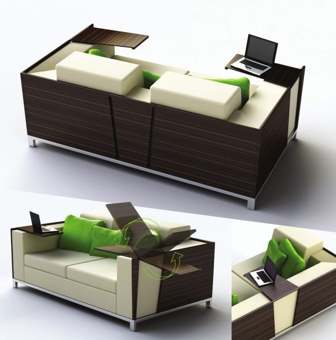 Multi-–-functional-Furniture..-675x683 Top 10 Ways to Make A House Look Bigger And More Spacious