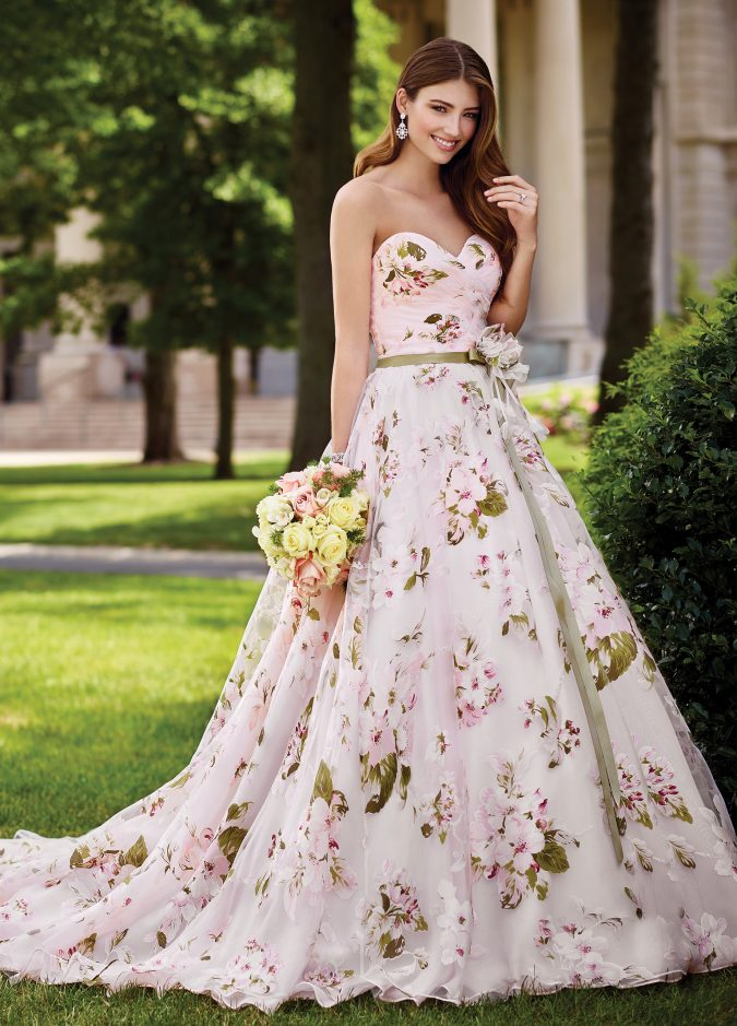 New-Mon-Cheri-Bridal-Dress-3-675x939 150+ Bridal Fashion Trends and Ideas for Fall/winter 2020