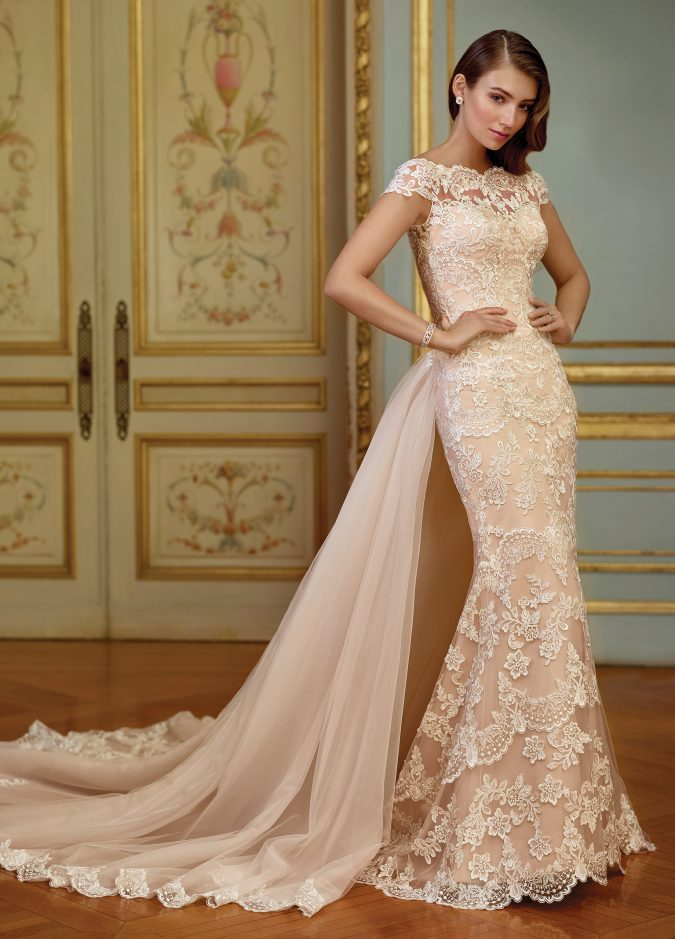 New-Mon-Cheri-Bridal-Dress-8-675x939 150+ Bridal Fashion Trends and Ideas for Fall/winter 2020