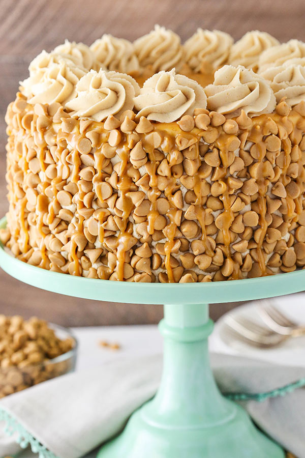 Peanut-Butter-Cake Top 5 Healthy Cakes for Fruitful Celebrations