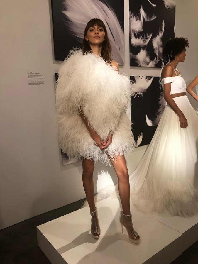 Pronovias-feathers-675x900 150+ Bridal Fashion Trends and Ideas for Fall/winter 2019