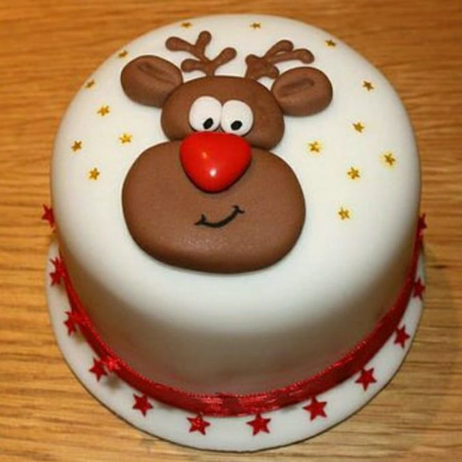 Reindeer-Christmas-cake-3-675x675 Make this Christmas Day Delighted with Delicious Theme Cakes