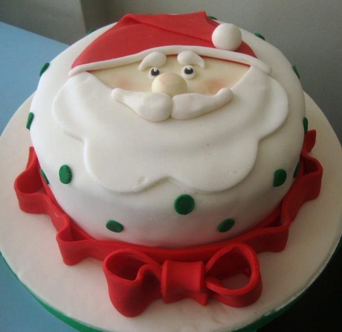 Santa-Claus-cake-675x654 Make this Christmas Day Delighted with Delicious Theme Cakes