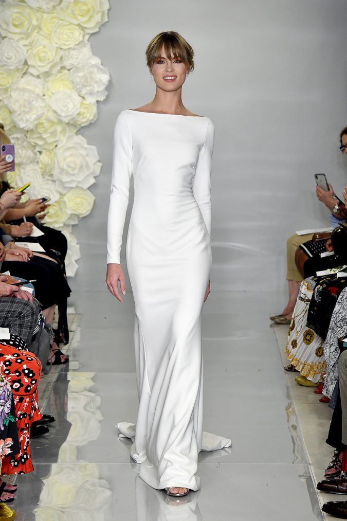 THEIA-Fall-2019-09-675x1013 150+ Bridal Fashion Trends and Ideas for Fall/winter 2020
