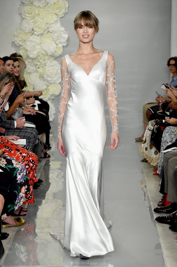 THEIA-Fall-2019-29-675x1013 150+ Bridal Fashion Trends and Ideas for Fall/winter 2019