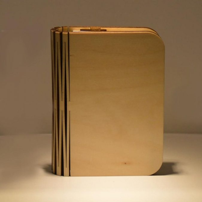 Wooden-LED-Book-Lamp-2-675x675 Innovative Wooden Book LED Lamp