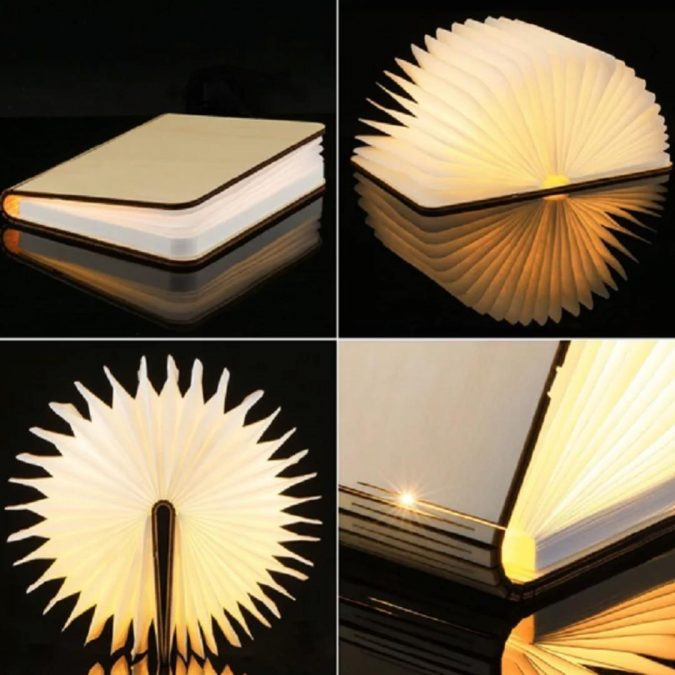 Wooden-LED-Book-Lamp-675x675 Innovative Wooden Book LED Lamp