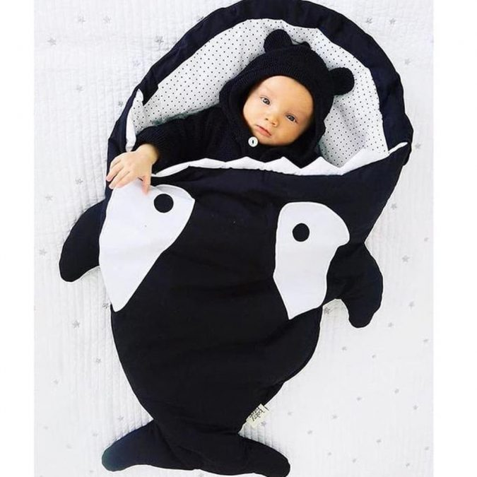 baby-shark-bag-8-1-675x675 Cute Baby Sleeping Shark